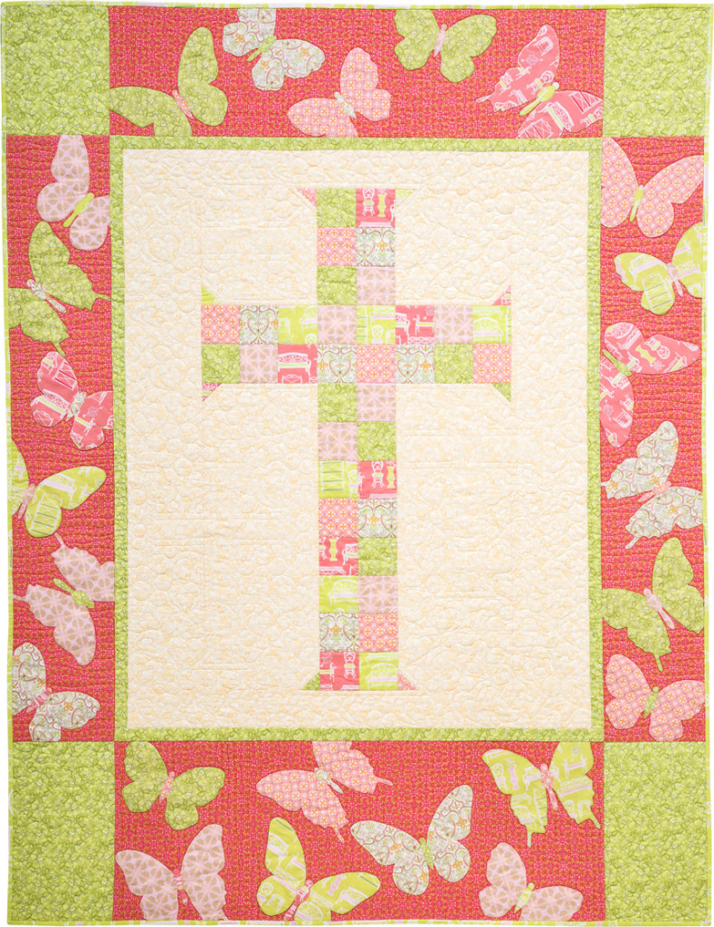 """Blessings"" Confirmation or First Communion Quilt"
