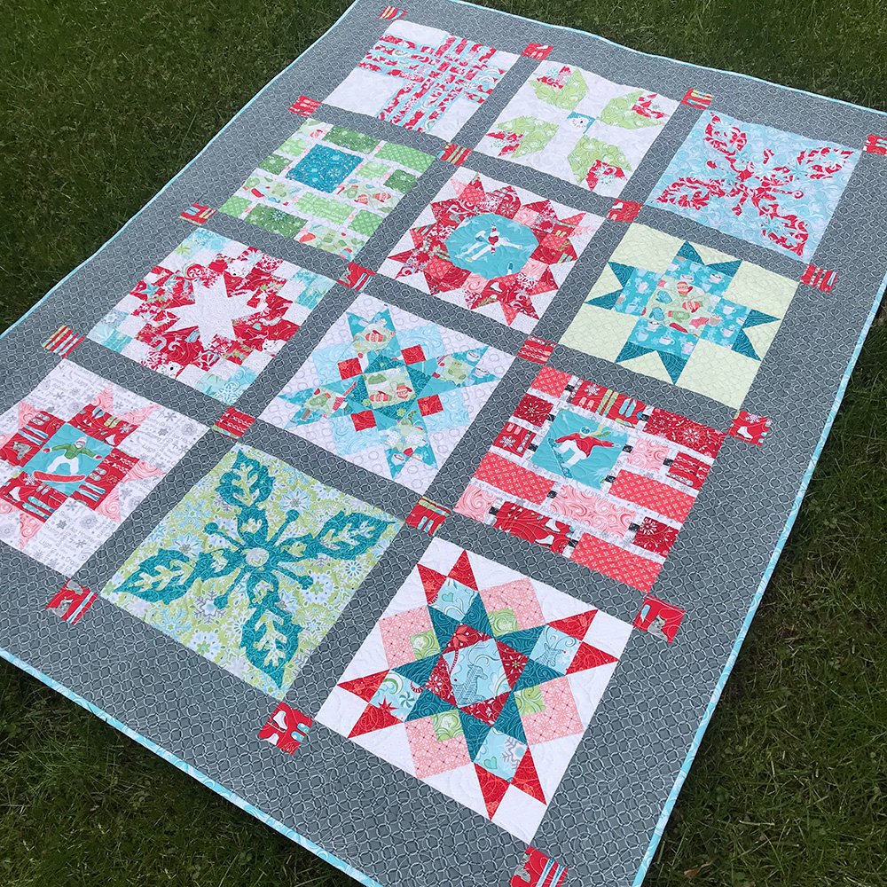 Aurifil 2017 Block-of-the-Month by Amanda Murphy